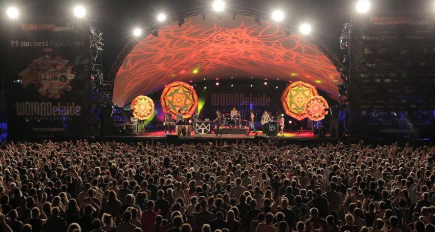 WOMADelaide - Green and Global since 1992. Image credit: Andre Castellucci