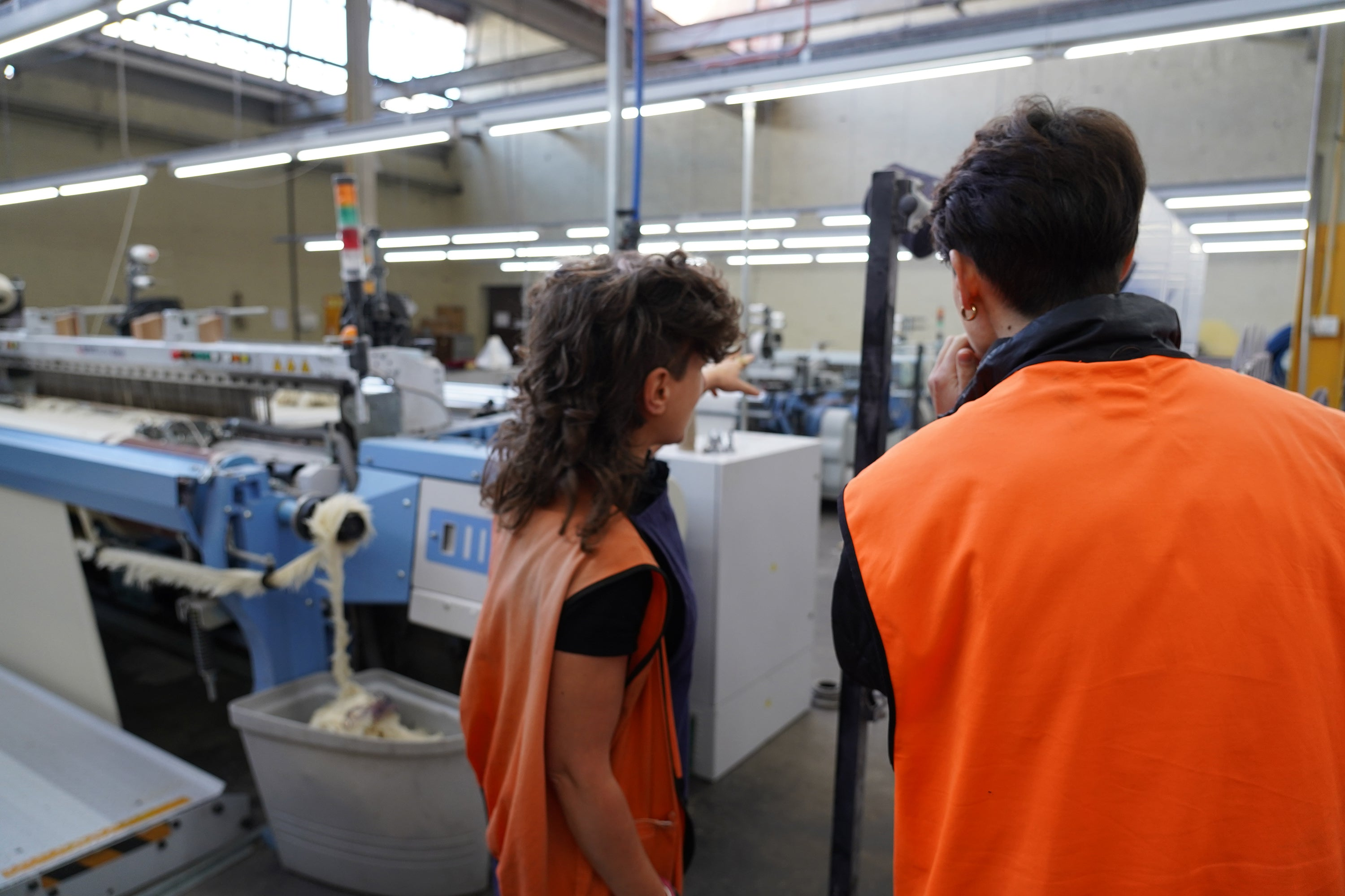 Ana showed us around the mill when Seljak Brand visited in March 2021.