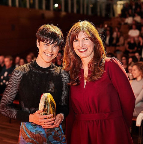 Karina with Abigail Forsyth co-founder and managing director of KeepCup