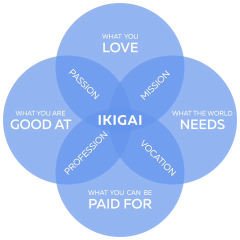 Ikigai: finding your purpose