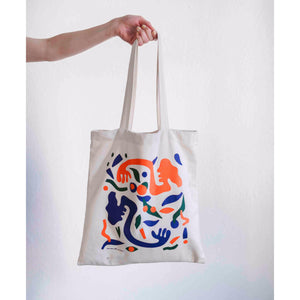 Nadia Hernandez artist designed collaboration tote bag 1