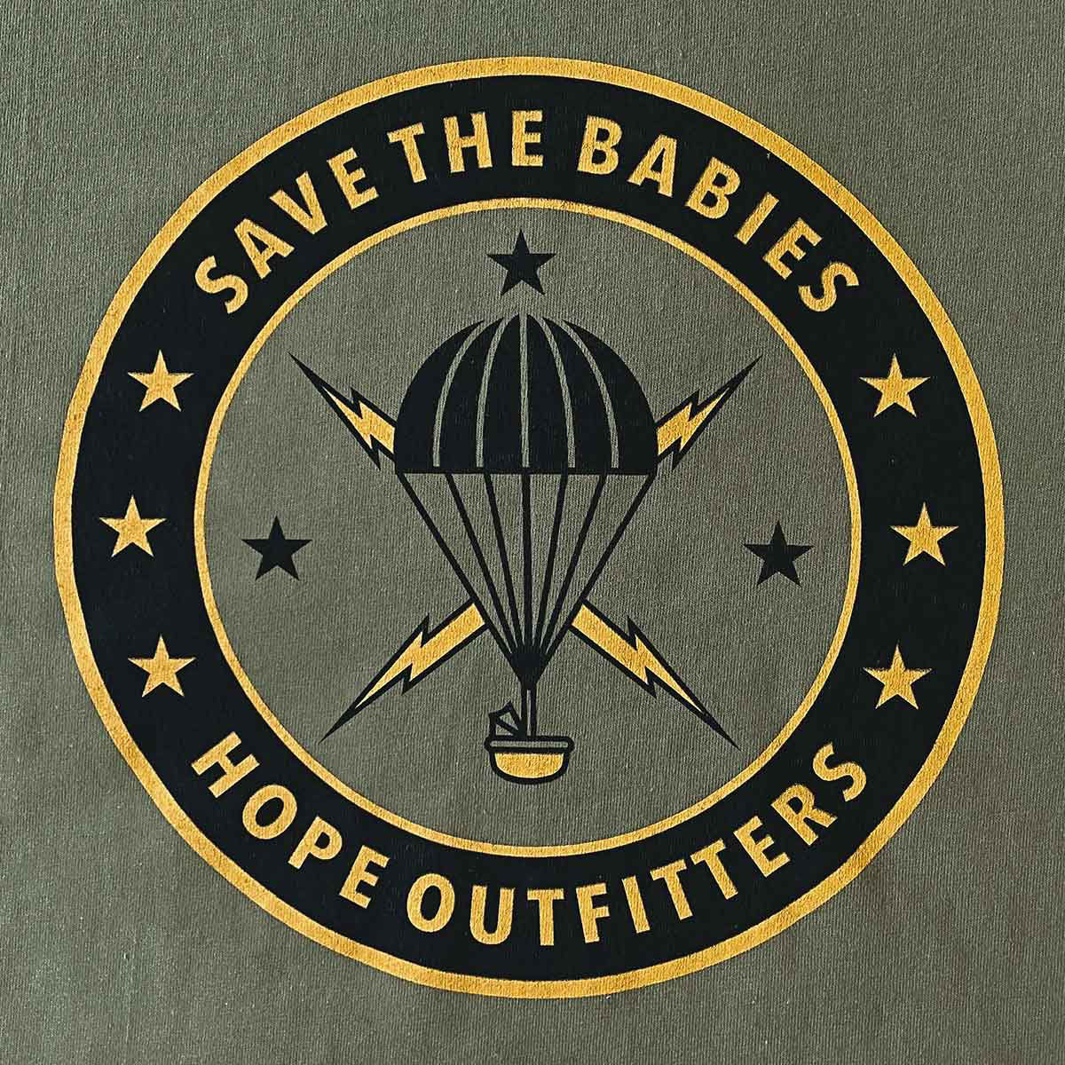 New Parachute Save The Babies Tee!