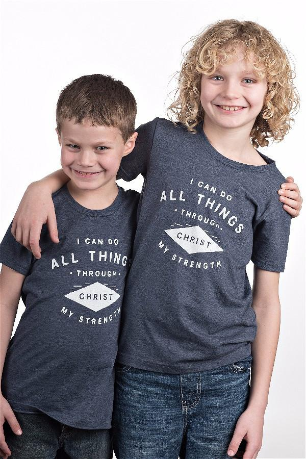 All Things Through Christ Youth Tee 1