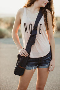 Anchor Crossbody Tote