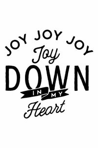 Joy Down In My Heart Onesie