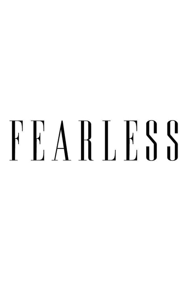 Womens Fearless Black Flowy Scoop Tee