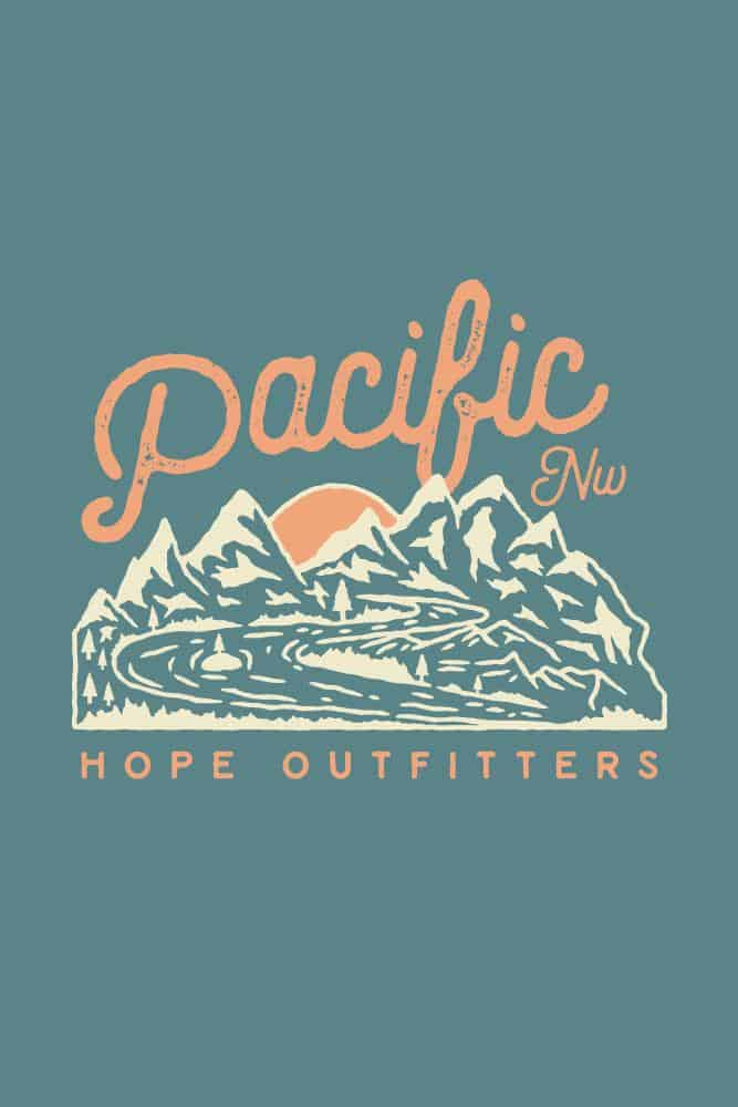 Womens Hope PNW Flowy Muscle Tank