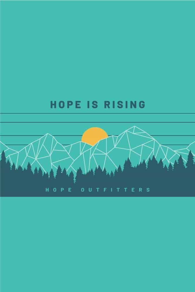 Hope Is Rising Nalgene Bottle