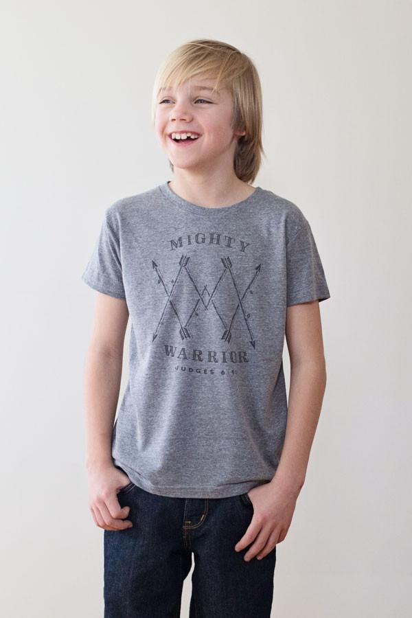 Mighty Warrior Youth Tee