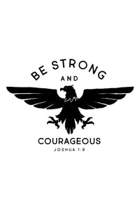 Be Strong Eagle Tee