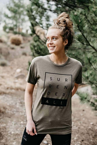 Surrender All Long Body Urban Tee