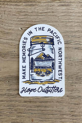 Make Memories In The PNW Sticker