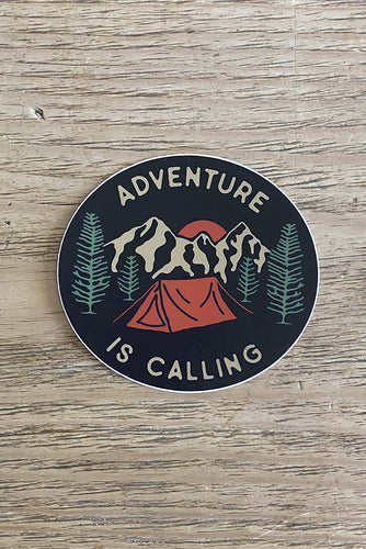 Adventure Is Calling Sticker