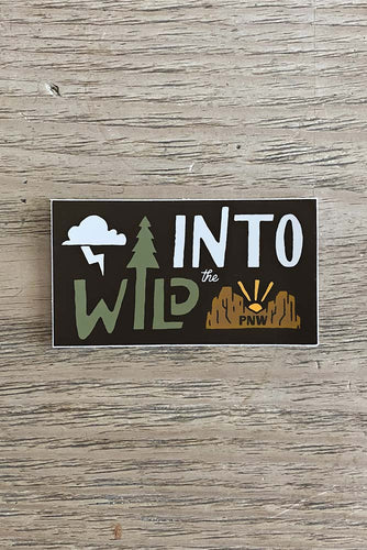 Into The Wild PNW Sticker