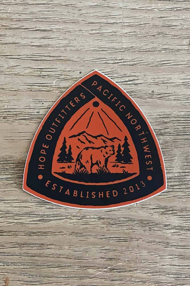 Hope Outfitters Bear Sticker 1