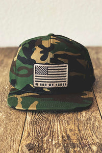 God We Trust Camo Hat