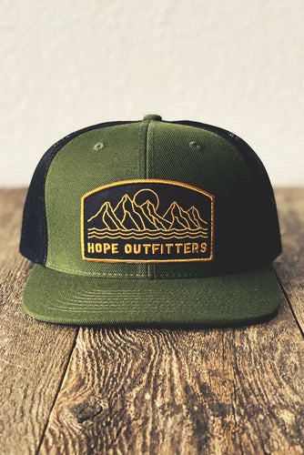 Hope Outfitters Mountain Trucker Hat