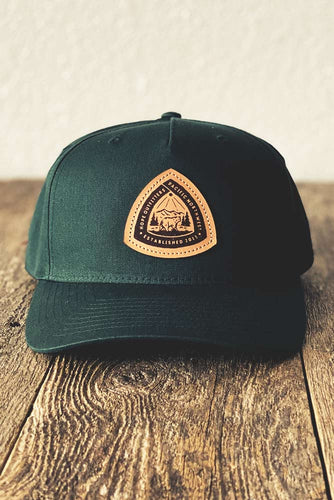 Hope Outfitters Leather Patch Hat