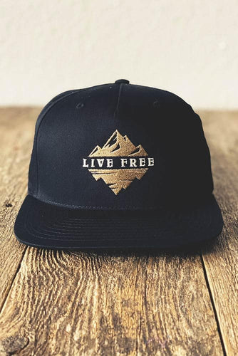 Live Free Mountain Hat