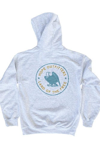Land of The Free Heavyweight Hoodie