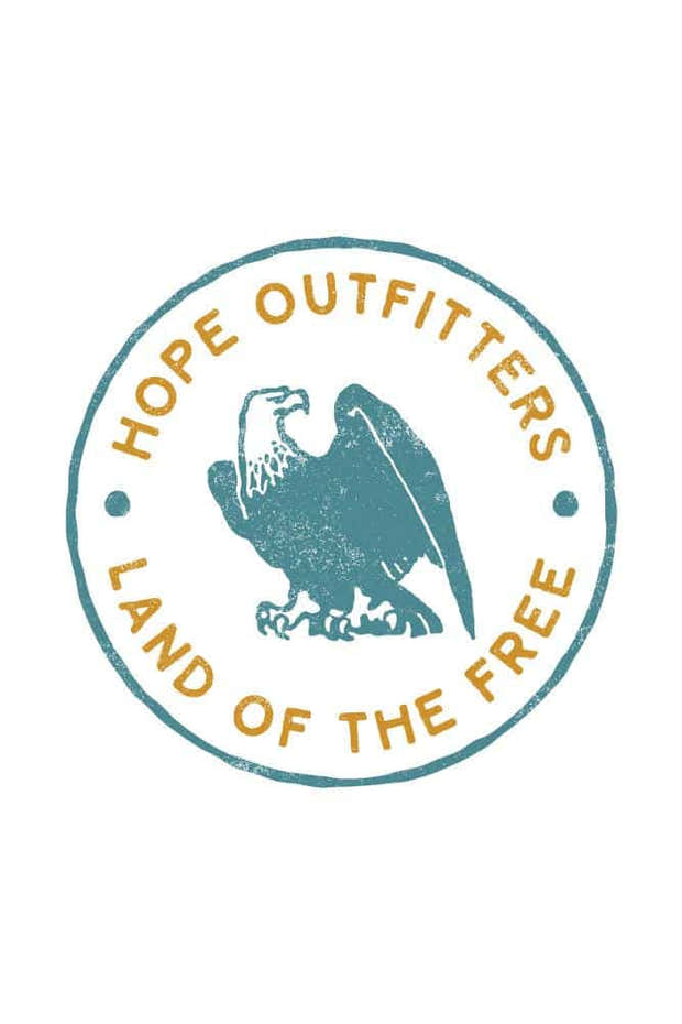 Land of The Free Heavyweight Hoodie 1