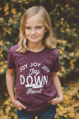 Youth Joy Down In My Heart Tee