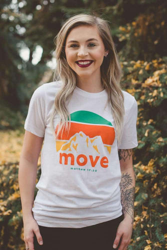 Move Mountains Tee