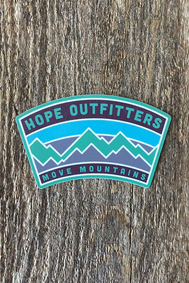 Hope Outfitters Move Mountains Sticker 1