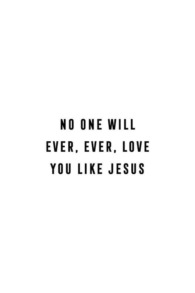 Womens No One Loves Like Jesus Tee