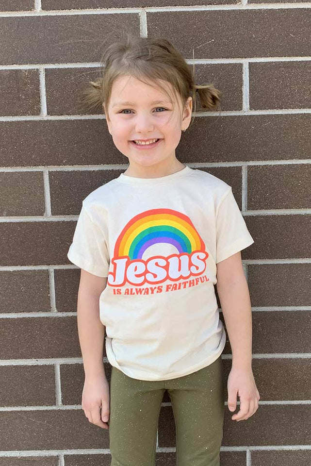 Toddler Vintage Rainbow Tee