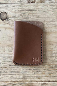 Minimalist HiM Leather Wallet