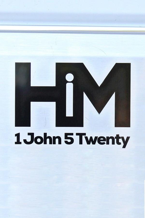 HiM Decal with Verse 1