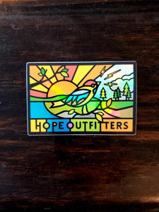 Hope Hologram Sticker