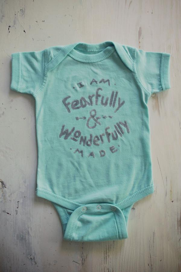 Wonderfully Made Infant Onesie