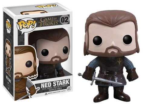 POP GOT : Ned Stark #2 - ColeccionablesMX