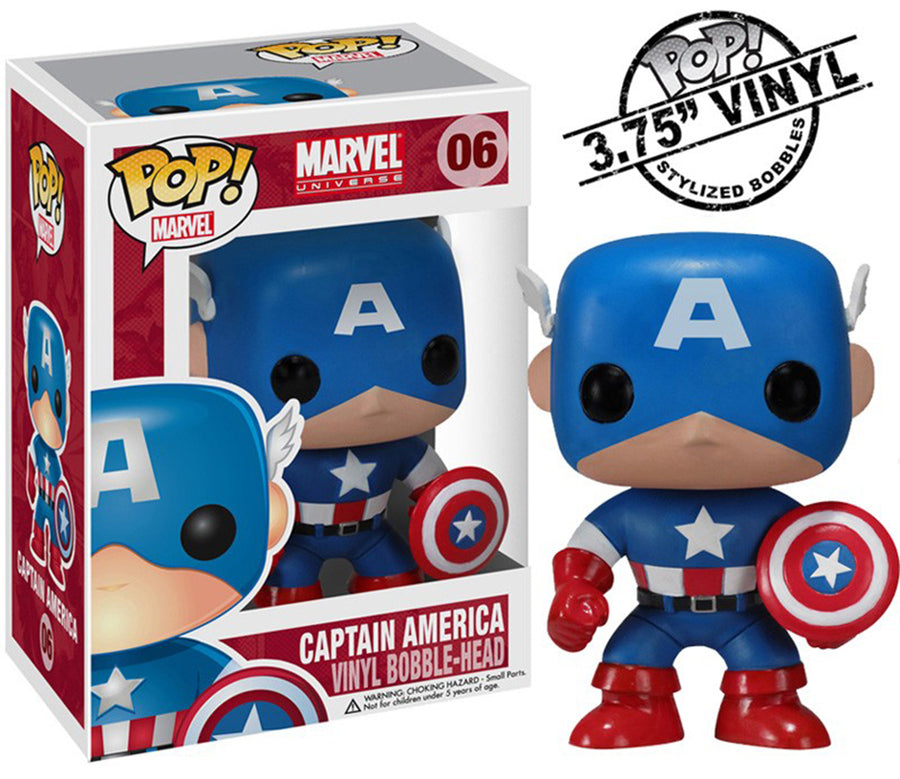 POP Marvel: Captain America #06