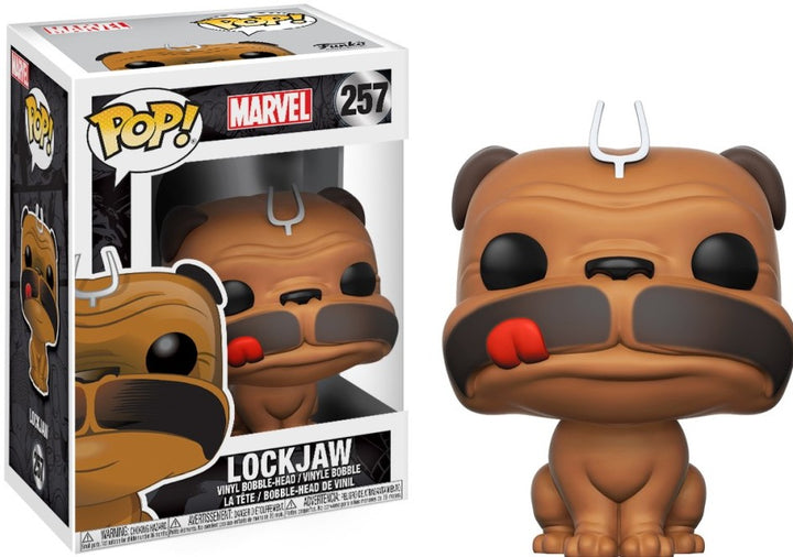 POP Marvel: Inhumans - Lockjaw #257