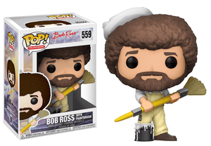 Pop TV: Bob Ross (in Overalls) #559