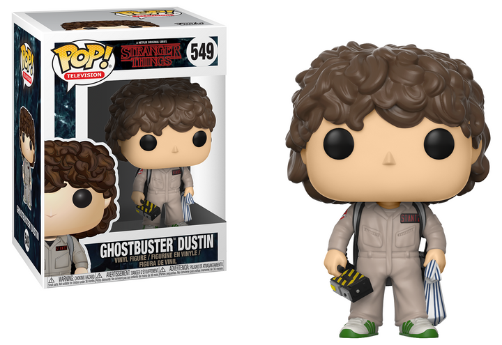Pop TV: Stranger Things - Ghostbuster Dustin #549