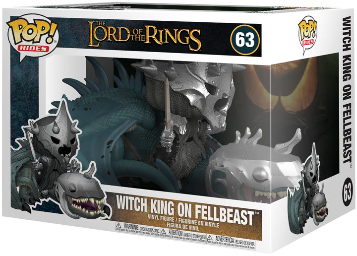 POP RIDES: LOTR - Witch King on Fellbeast #63