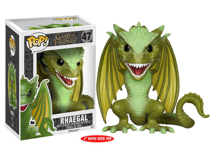 "POP Game of Thrones: Rhaegal 6""(15.24cm) #47"