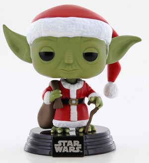 POP Star Wars : Holiday - Santa Yoda #277