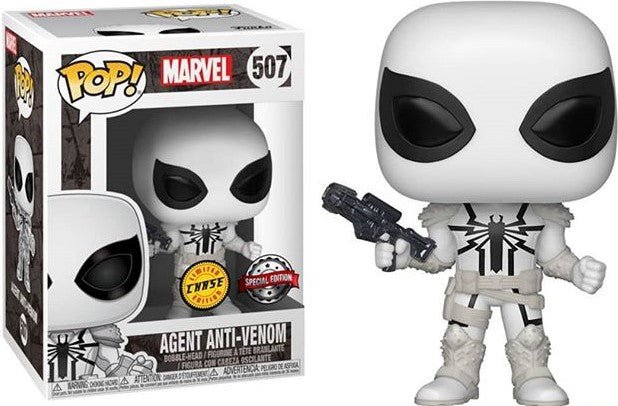 POP MARVEL: Agente Anti - Venom Special Edition CHASE Exclusivo #507