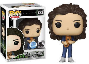 POP Movies : ALIEN - Ripley Holding Jonesy (40th Anniversary) #733