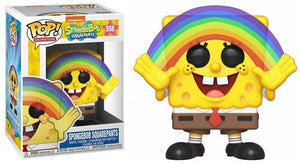 POP Animation: Spongebob Squarepants w/ Rainbow #558