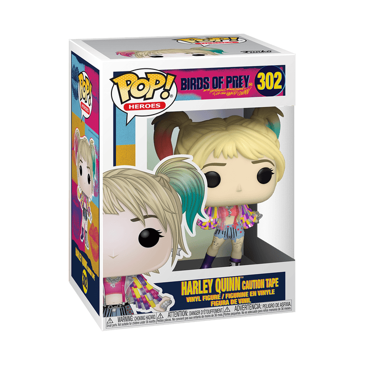 POP BIRDS OF PREY - HARLEY QUINN CAUTION TAPE #302