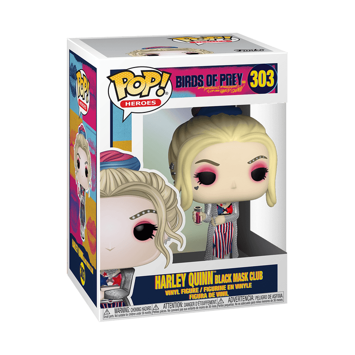 POP BIRDS OF PREY - HARLEY QUINN BLACK MASK CLUB #303
