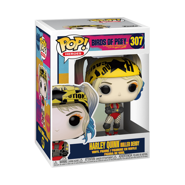 POP BIRDS OF PREY - HARLEY QUINN ROLLER DERBY #307