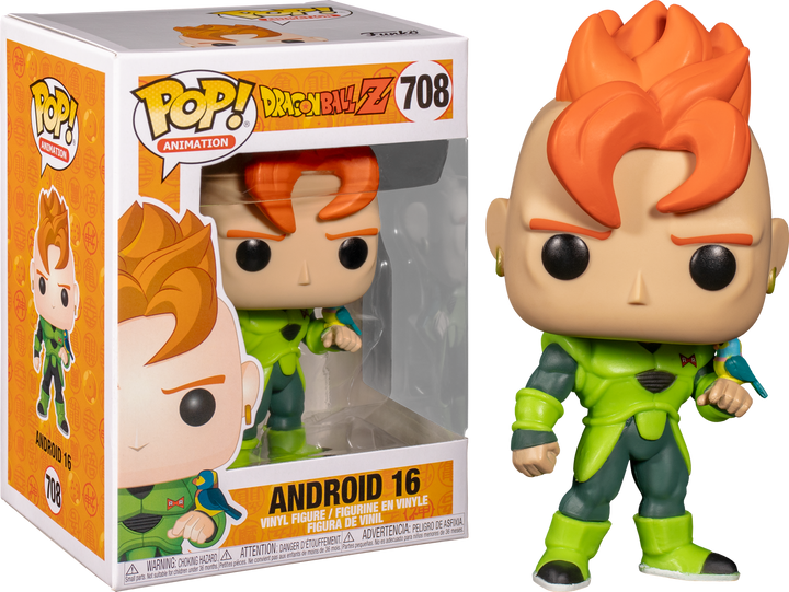 POP Animation: Dragon Ball Z - Android 16 #708