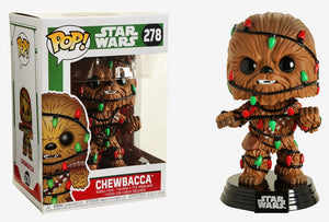 POP Star Wars : Holiday - Chewie (w/Lights) #278